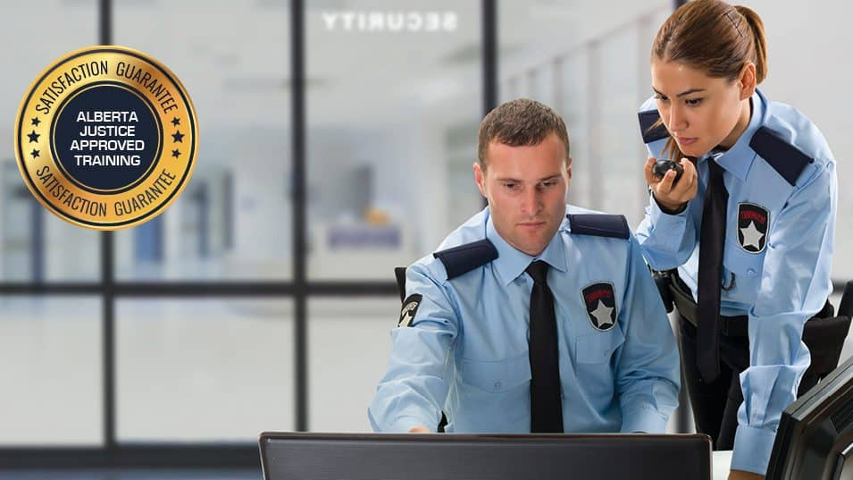 Header Image - Alberta Online Security Guard Training