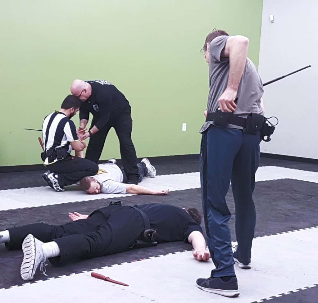 Alberta baton training course